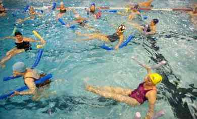 Aquagym au piscine reuilly paris 12 juillet 2015 for Piscine valeyre