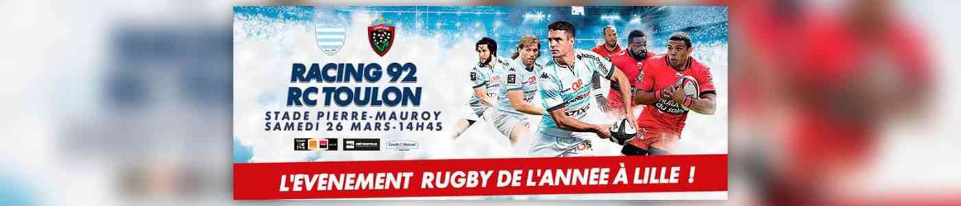 match racing 92 toulon au stade pierre mauroy de villeneuve d 39 ascq au grand stade lille. Black Bedroom Furniture Sets. Home Design Ideas