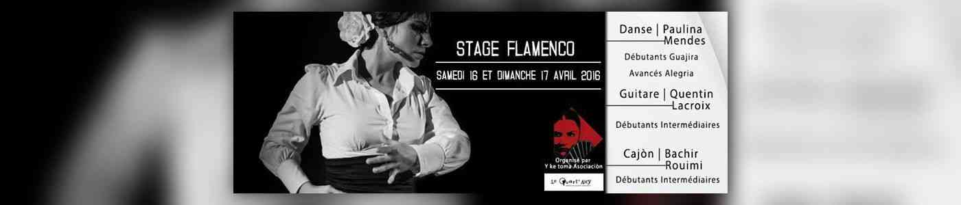 stage flamenco danse guitare caj n quart ney maison de quartier angers avril 2016. Black Bedroom Furniture Sets. Home Design Ideas