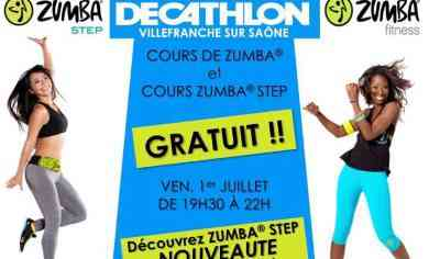 gratuit cours de zumba et zumba step decathlon villefranche sur sa ne la fabrika by. Black Bedroom Furniture Sets. Home Design Ideas