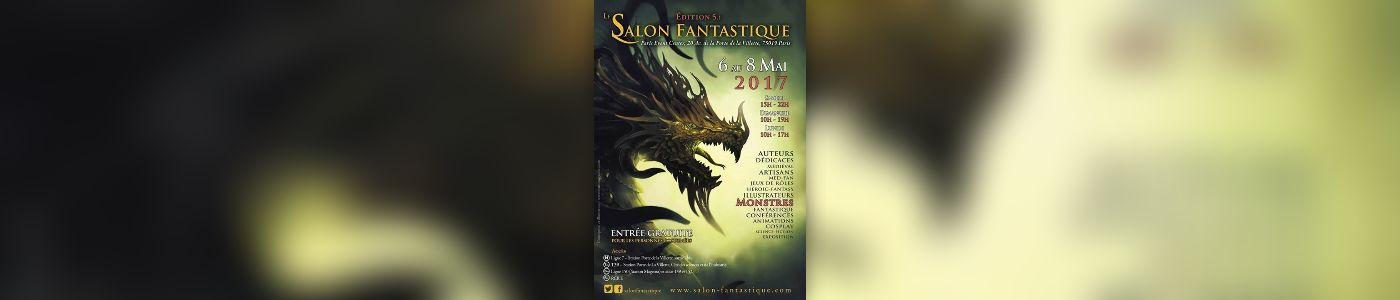 Le salon fantastique 5 monstres et merveilles au paris for Salon fantastique paris