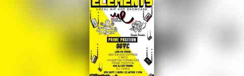 Elements Local Hip Hop Showcase At Cafe Rene