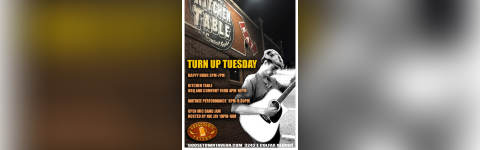 Turn Up Tuesday - Open Mic Jam Band W/ Nic Jay