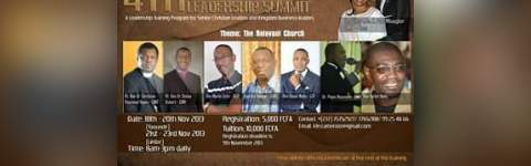 4th Int'l Kingdom Leadership Summit