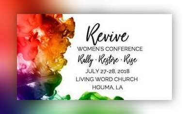 Revive womens conference living word church schriever july 2018 reheart Images