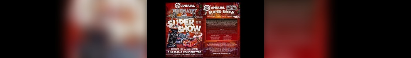 REZ MADE Th Annual Super Show Tachi Palace Hotel Casino - Rezmade car show 2018