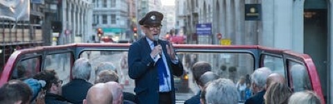 Sir Peter Hendy Guided Tour of the West End