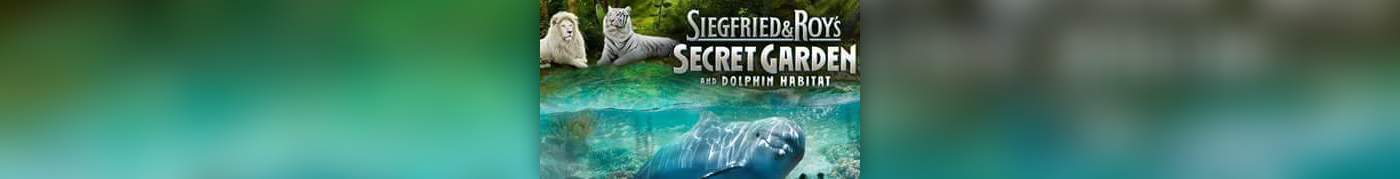 siegfried roys secret garden and dolphin habitat - Siegfried And Roy Secret Garden