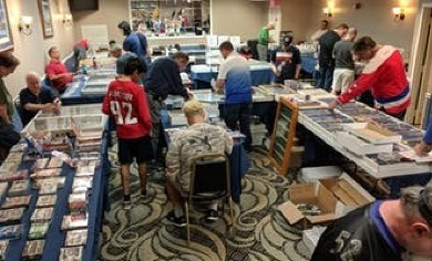Baseball Sports Card Collectibles Show At Comfort Inn Fairfax Sept