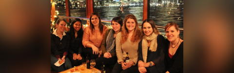 Irish Holiday Caroling Cruise in Boston Harbor