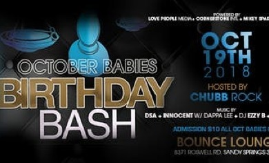 October Babies Birthday Bash Bounce It Sports Bar Grill Sandy Springs