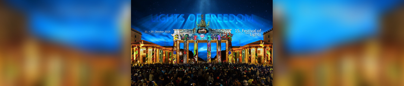 15. Festival of Lights 2019: 'Lights of Freedom'