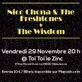 Nico Chona & the Freshtones + The Wisdom // CONCERT