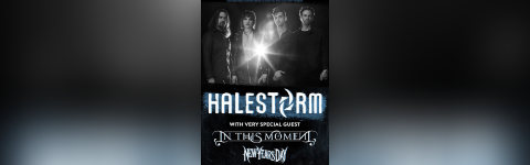 Halestorm In This Moment + New Years Day