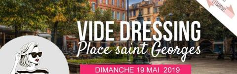 Vide dressing des Toulousaines Place Saint Georges