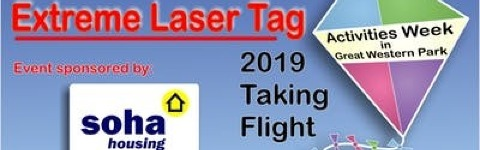 Extreme Laser Tag 2019 @ Boundary Park | Didcot - July 2019