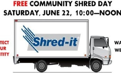 Community Shred Day @ Atonement Lutheran Church | Parkville - June 2019