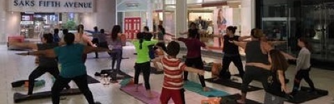 Summer Sunday Yoga Sessions at Dadeland Mall