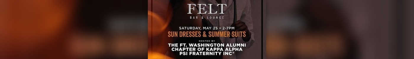 Sundress and Summer Suit Day Party