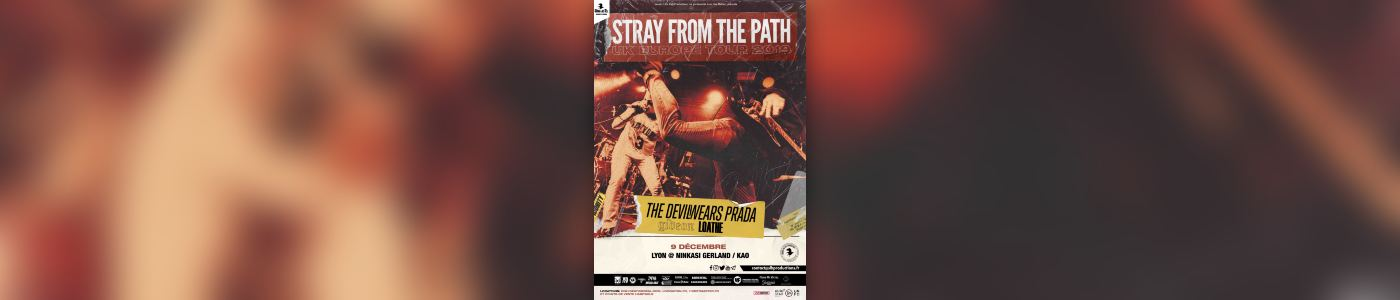 Stray From The Path + The Devil Wears Prada + Gideon + Loathe