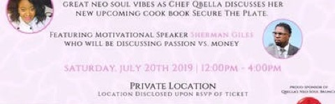 Qbella's Neo-Soul Saturday Brunch @ Private Location