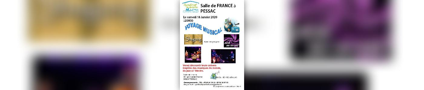"Concert ""Voyage musical"""