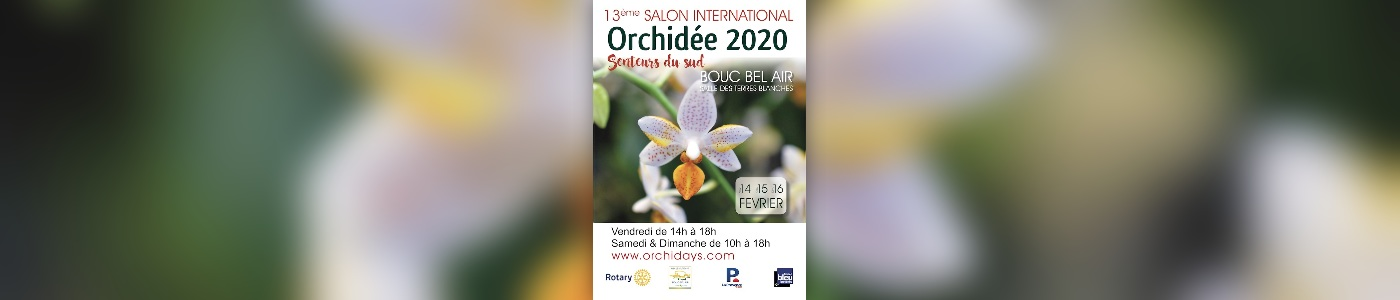13ème Salon International Orchidée - Senteurs du Sud