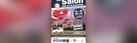 14ème Salon des civilisations 2020 : La Turquie au Salle Des ...