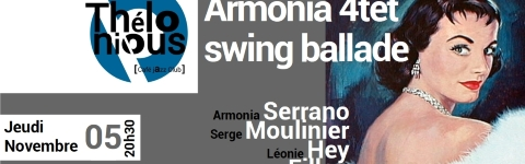 ARMONIA 4TET SWING BALLADE	- THELONIOUS CAFE JAZZ CLUB