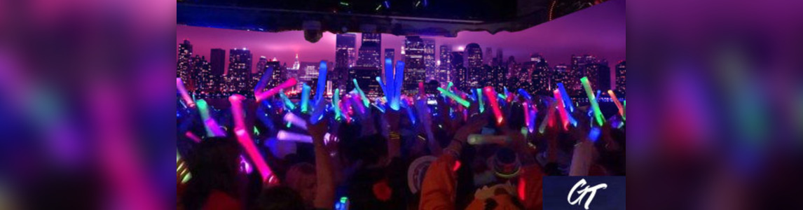 Manhattan Booze Cruise Glowsticks Yacht Party at Skyport Marina