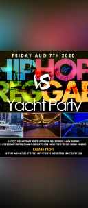NY Hip Hop vs. Reggae® Midnight Yacht Party at Cabana Yacht