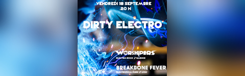 Dirty Electro #3 : Station Echo + Breakbone Fever + Worshipers