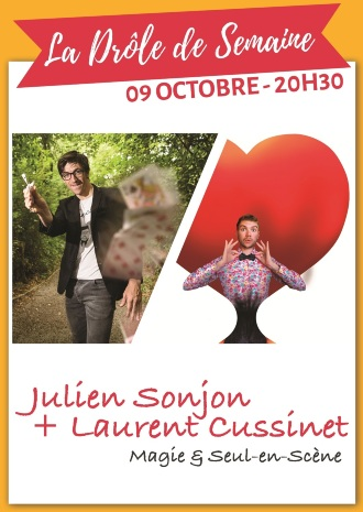 Julien Sonjon et Laurent Cussinet