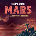 "Affiche collector expo-ateliers ""EXPLORE MARS"""